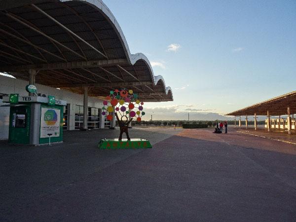 Flughafen Antalya im Winter